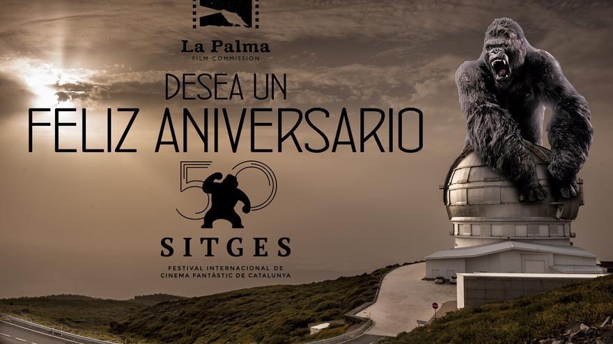 La Palma Film Commission va a desplegar en Sitges una original campaña de promoción de la Isla.