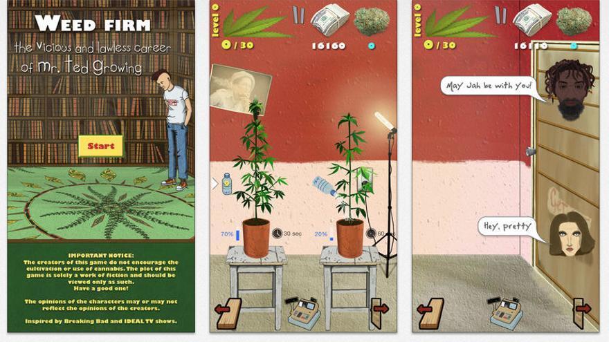 Weed Firm censurada en la App Store