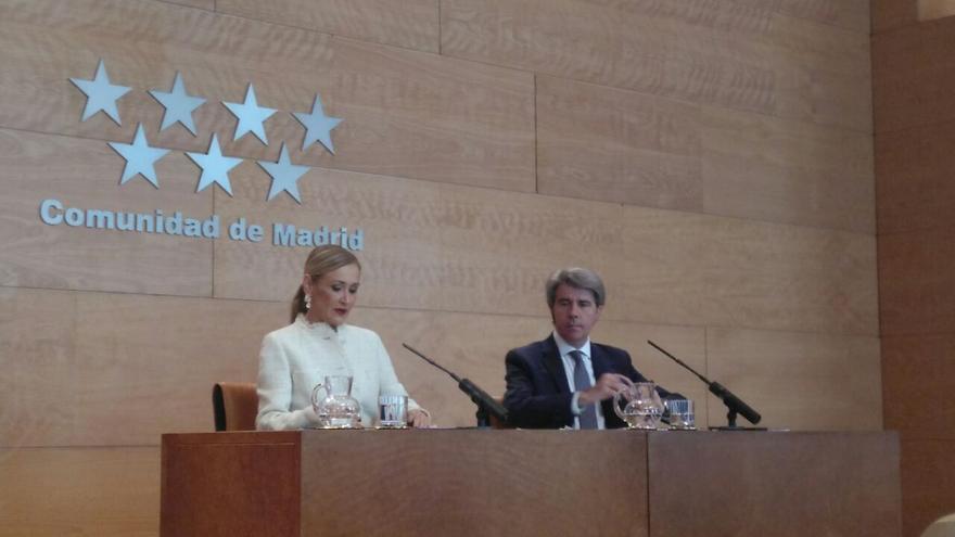 Cifuentes comparece en la Asamblea de Madrid