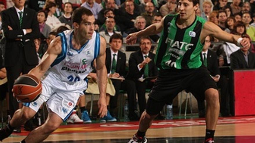 Jimmy Baron Y F. Van Lacke, FIATC Mutua Joventut - Lagun Aro GBC (Baloncesto)