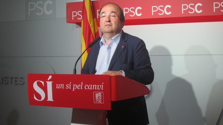 Iceta (PSC) no ve razones para cambiar el 'no' del PSOE a la investidura de Rajoy