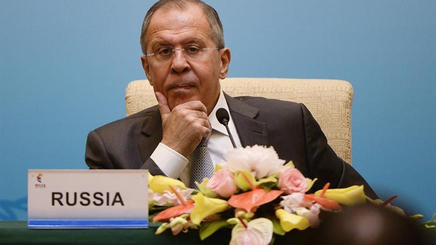 Lavrov urge a EEUU a evitar acciones unilaterales en Siria