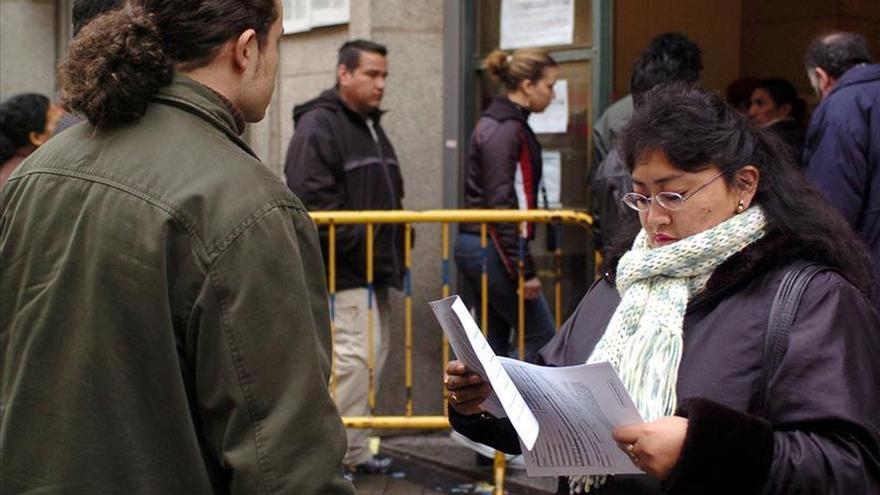 La afiliación extranjera cae el 2,36 % en enero hasta 1.516.056 personas