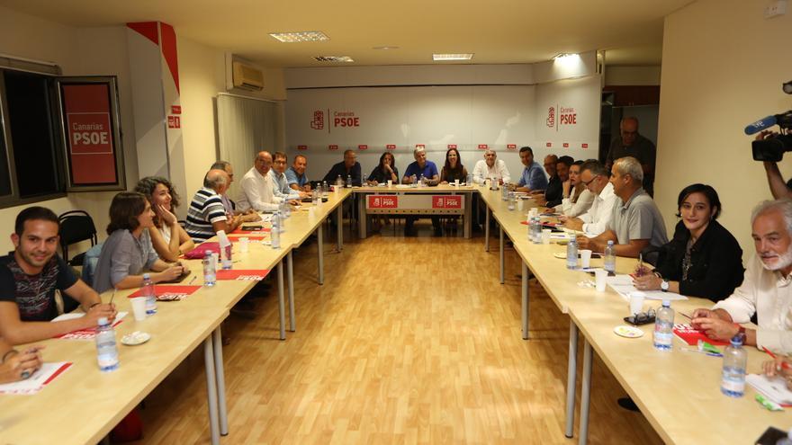 Ejecutiva regional del PSOE (ALEJANDRO RAMOS)