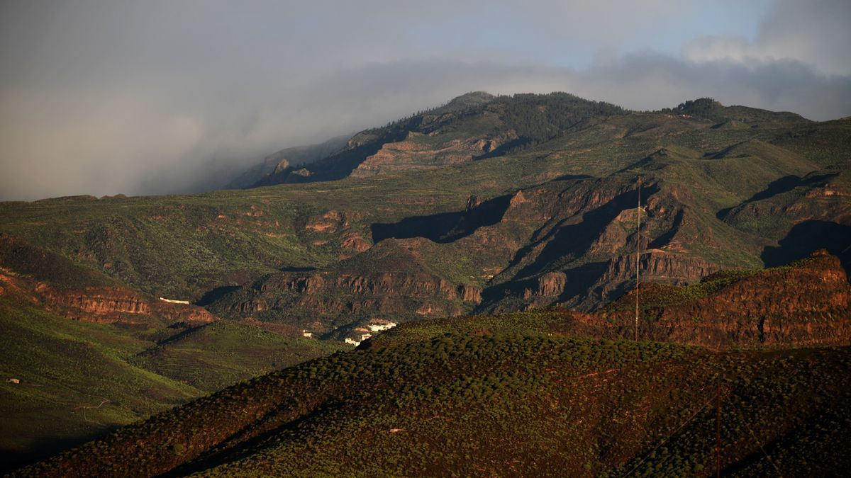 Cumbres nubladas en Gran Canaria