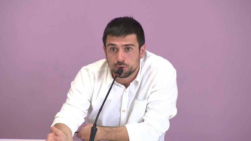 """Espinar se siente """"muy reforzado"""" para presentarse a liderar Podemos Madrid tras la polémica de su piso"""