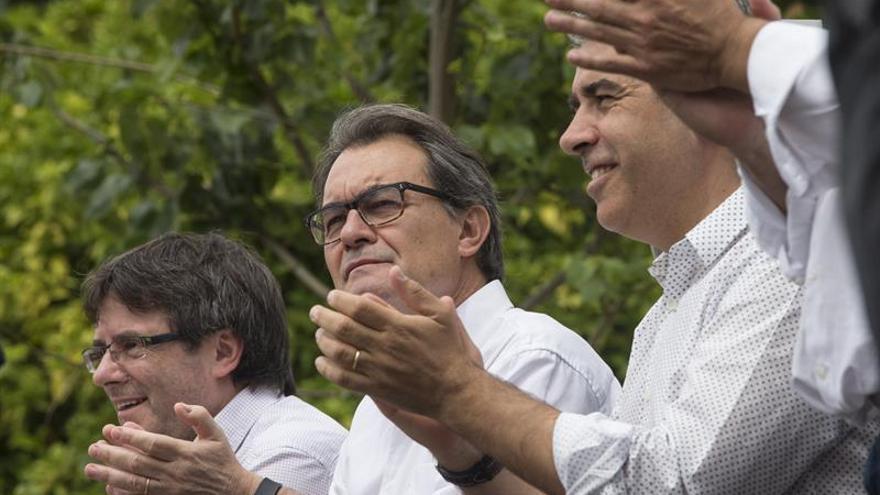 Puigdemont, Mas y Homs este fin de semana