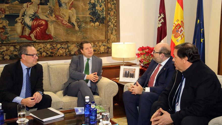 Reunión de García-Page con CSIF