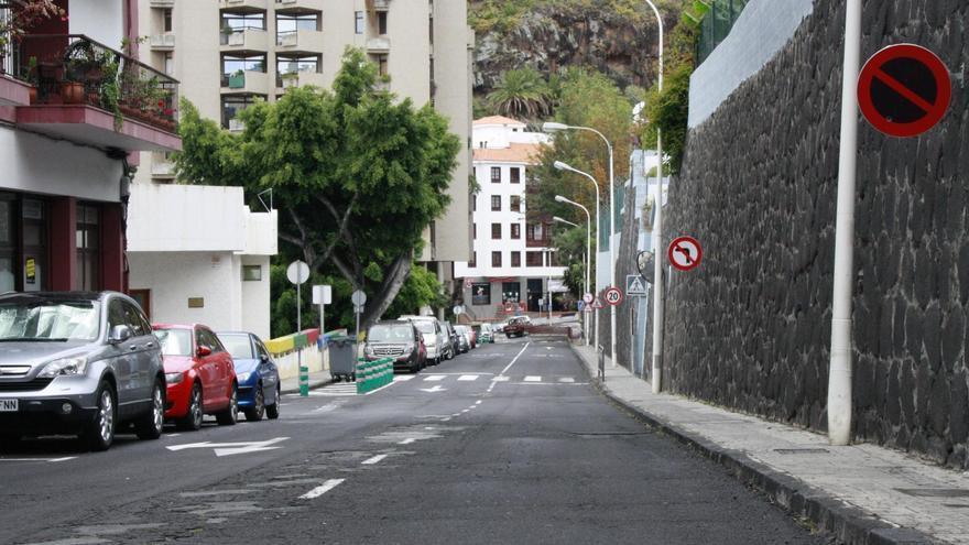Calle José López de Santa Cruz de La Palma.