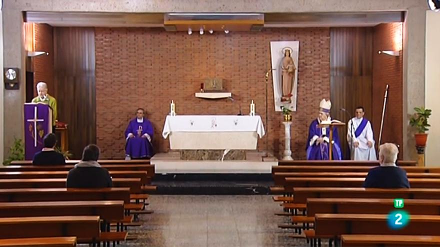 Imagen de la Misa de La 2 del domingo 15 de marzo