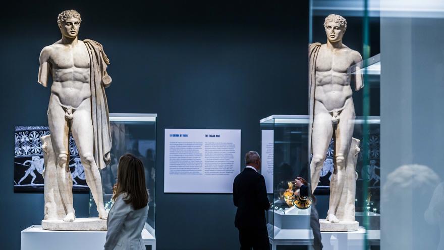 La muestra examina mediante más de 170 objetos este espíritu competitivo característico de la sociedad de la Antigua Grecia