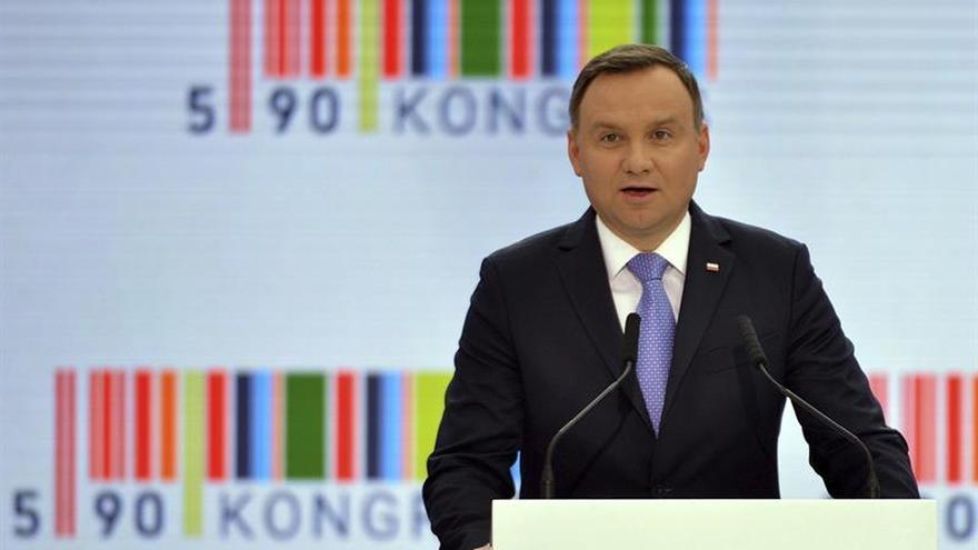 """El presidente polaco augura un """"futuro brillante"""" para las relaciones con EEUU"""