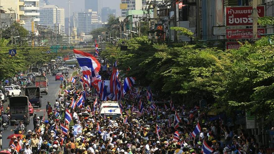 Alertan de pérdidas millonarias por las protestas en Tailandia