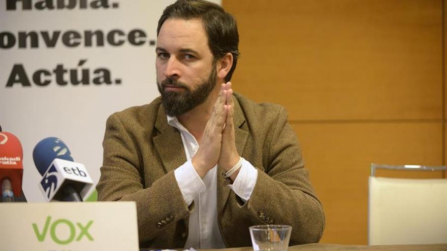 El candidato de VOX en los comicios vascos Santiago Abascal ha sido hospitalizado