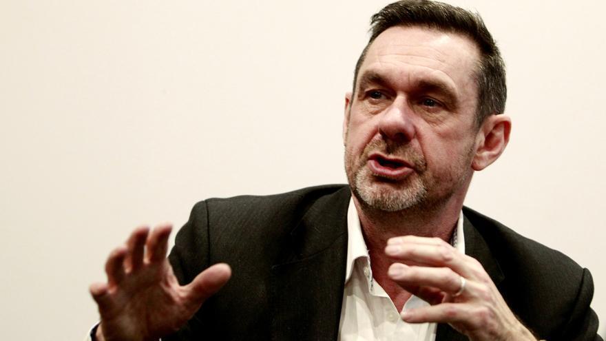 El periodista británico Paul Mason. Foto: Marta Jara