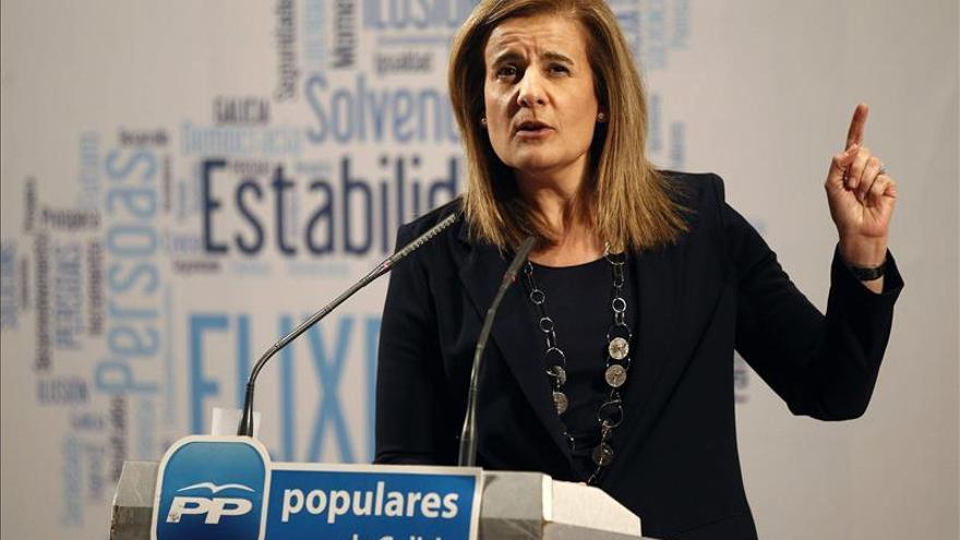 "Báñez dice que ""hoy España crece y crea empleo"""