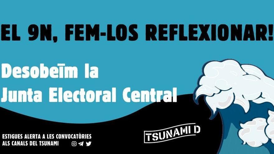 PP recurre ante Juntas Electorales Provinciales de Cataluña la concentración de Tsunami Democràtic el día de reflexión