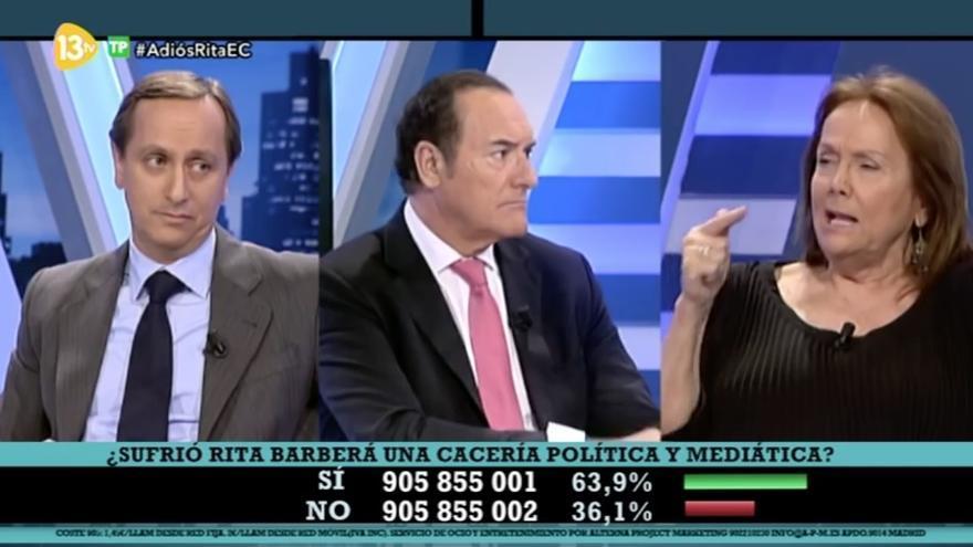 Debate en el programa 'El Cascabel', de 13TV