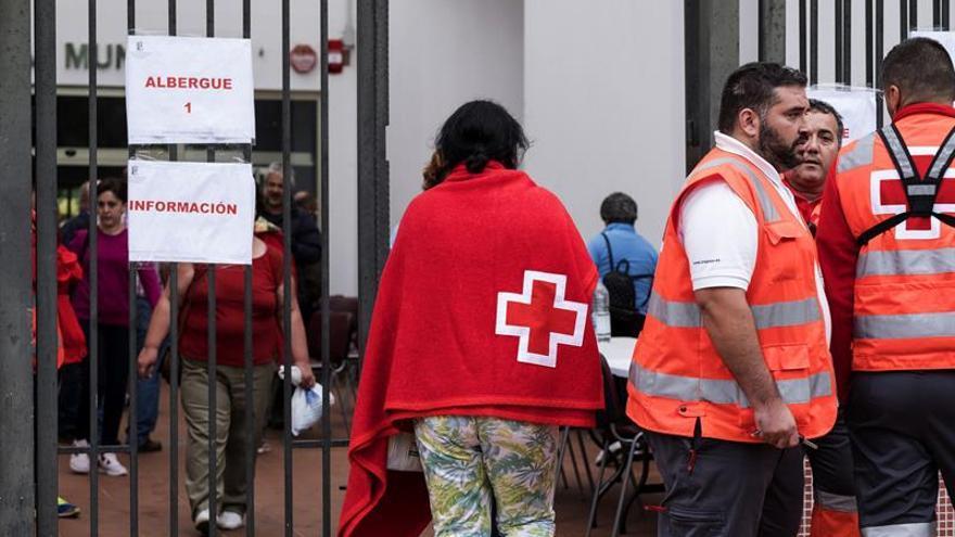 Evacuados en San Mateo por el incendio de Gran Canaria