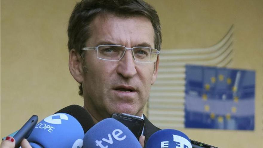 Núñez Feijóo afirma que el accidente constató el valor del apoyo entre territorios