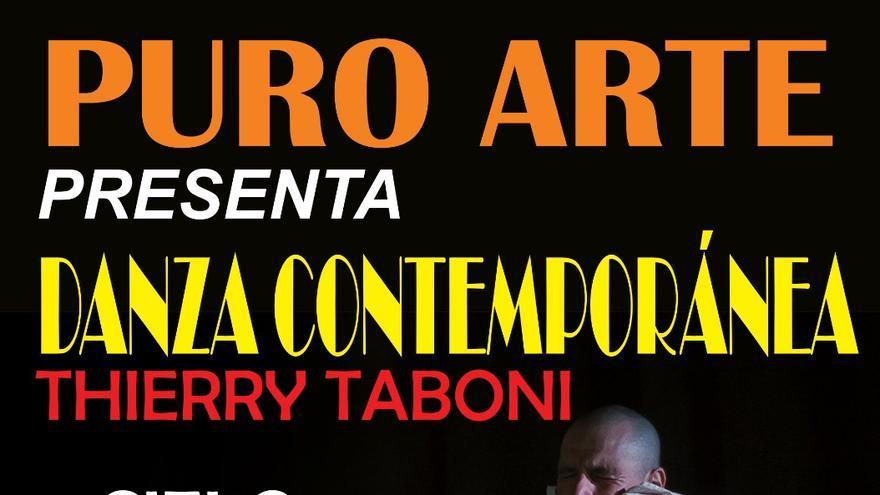 Cartel del espectáculo de danza contemporánea en Breña Alta.
