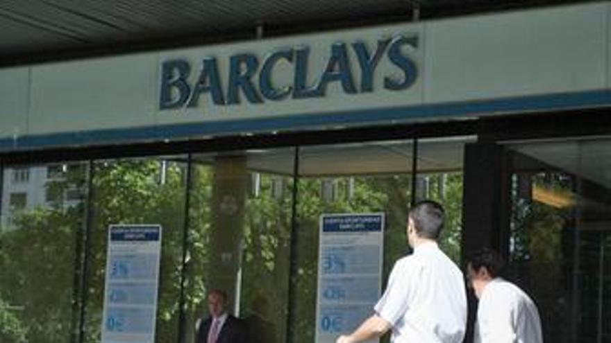Sucursal del banco Barclays