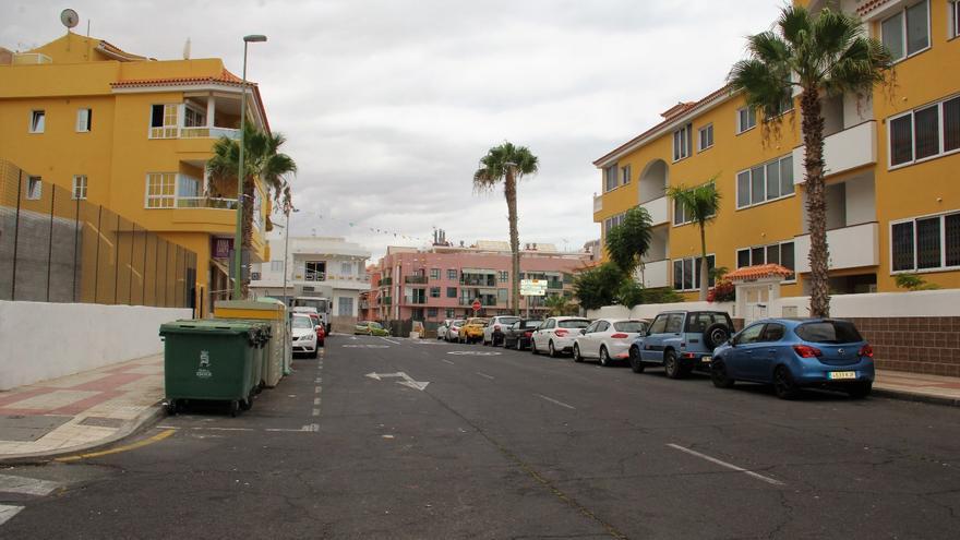 Imagen de archivo de una de las calles que se reasfaltarán en Guía de Isora