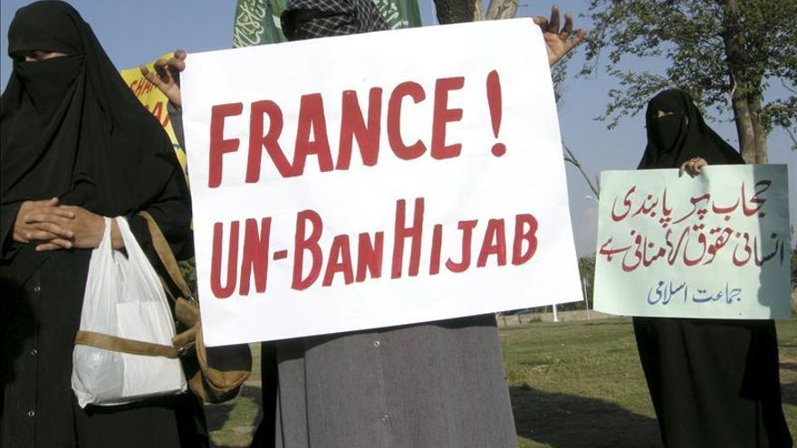 El Tribunal Europeo apoya ley francesa que prohíbe el burka en espacios públicos