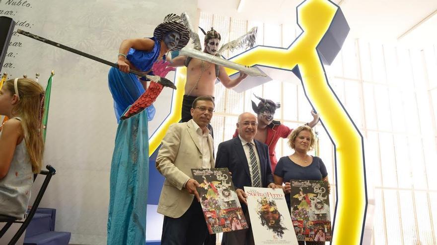 Presentación de las Fiestas de San Miguel 2016.