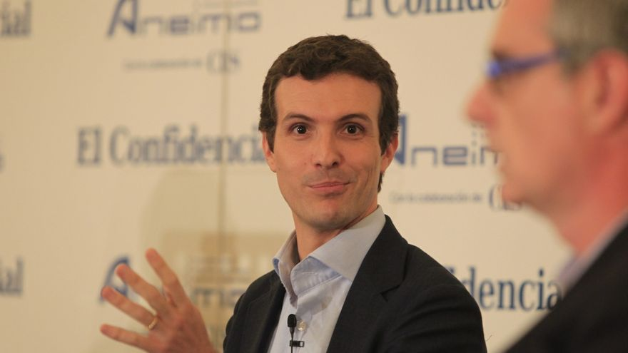"""Casado niega fractura en el PP y dice que Aznar ayuda """"no como otros expresidentes que cuando hablan sube el pan"""""""