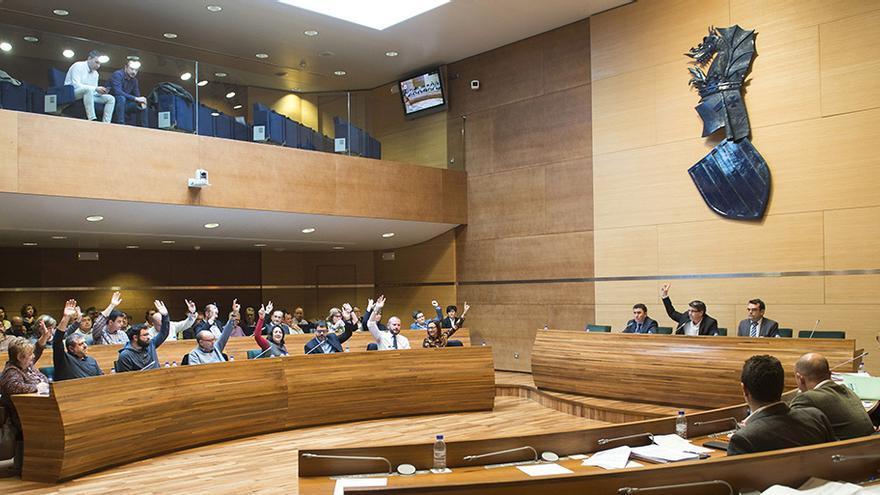 El pleno de la Diputación ha aprobado los presupuestos de la institución para 2016