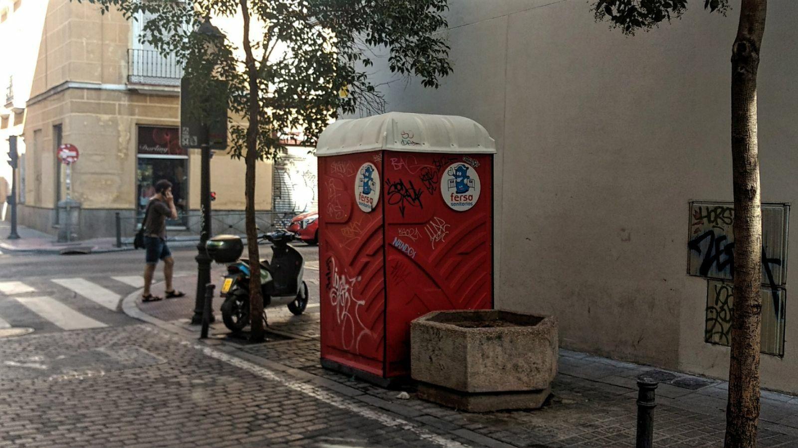 WC portátil calle Palma