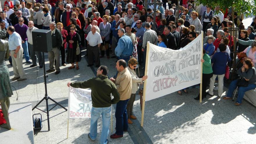 Protesta Aracena