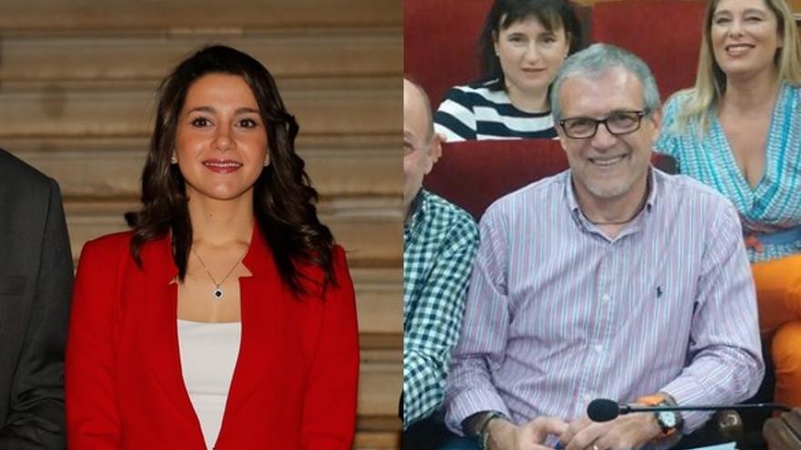 Inés Arrimadas y Jorge Sedano