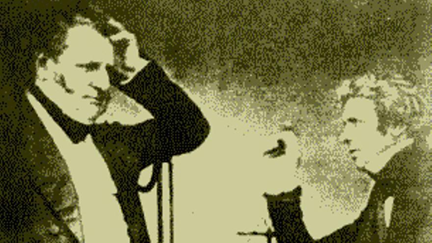 John F. Daniell y Michael Faraday