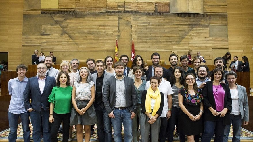 Posiciones encontradas en el Grupo Parlamentario de Podemos en la Asamblea de Madrid tras el cese de Mato