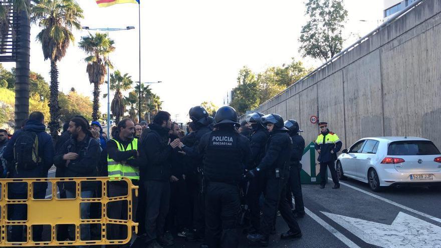 Los Mossos abren al tráfico la Ronda de Dalt en Barcelona