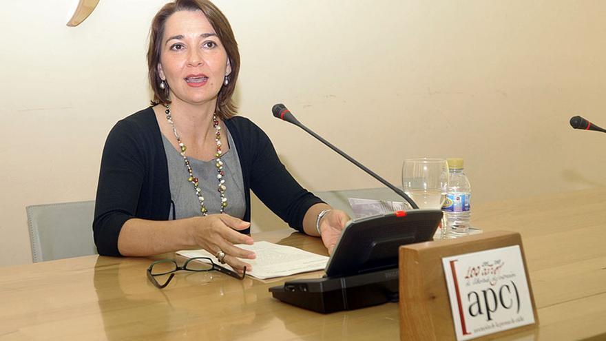 La investigadora Concha Langa