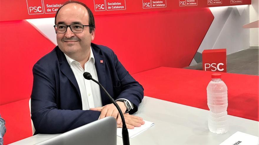 """Iceta reprocha a Torra jalear los CDR: """"No puedes decir que construyes República, cuando gestionas y mal la autonomía"""""""
