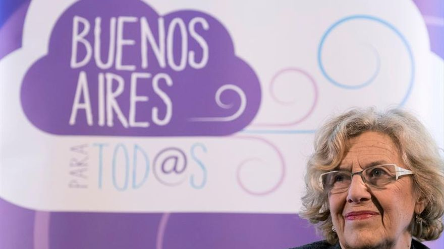 Manuela Carmena cree necesario seguir luchando por el feminismo