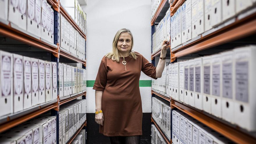 Ana Fernández Asperilla, directora del Centro de Documentación de las Migraciones