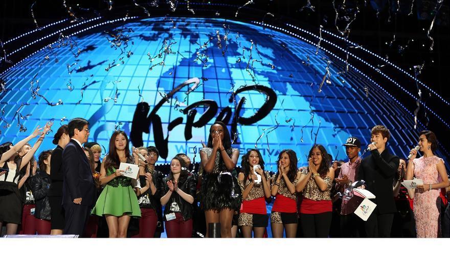 Un momento del K-Pop World Festival del año pasado