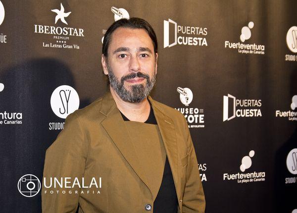 Juanjo Oliva en los III Premios Chicote | Fotografía: UNEALAI