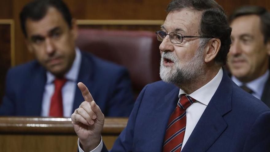 """Rajoy sobre el desafío soberanista: """"El Estado tiene que reaccionar"""""""
