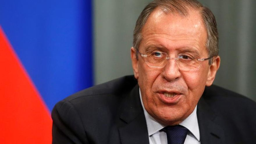 Lavrov afirma que Rusia seguirá con su apoyo al este prorruso de Ucrania