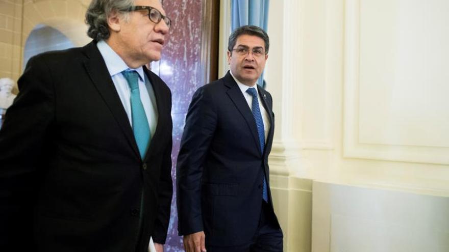 Honduras y la OEA acuerdan fortalecer sus esfuerzos contra el narcotráfico
