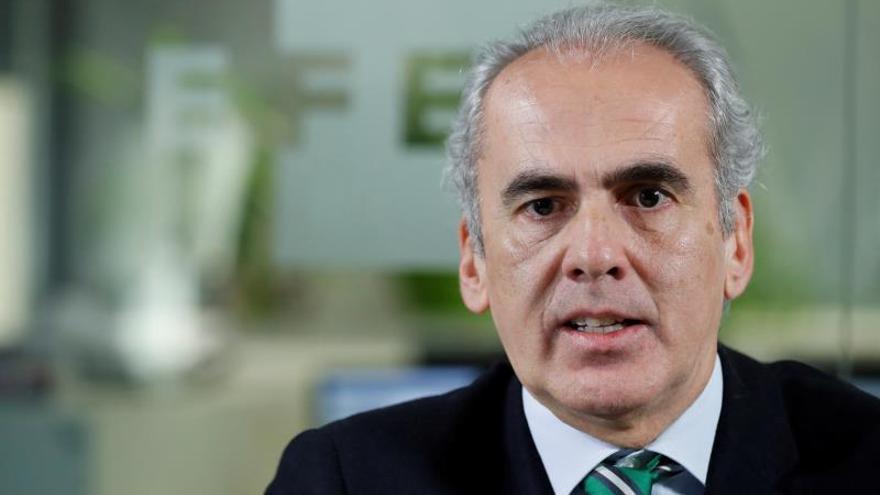 El consejero de Sanidad, Enrique Ruiz Escudero.