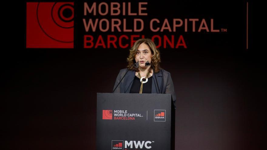 Ada Colau reivindica a Barcelona como capital cultural y tecnológica