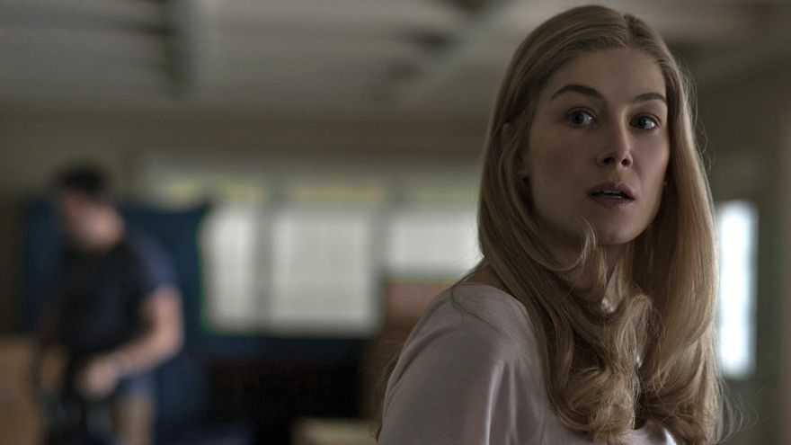 Rosamund Pike es Amy en Perdida