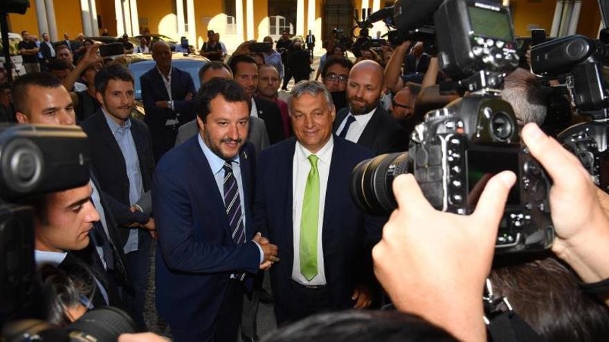 Salvini y Orbán se han convertido en exponentes de la oleada populista.